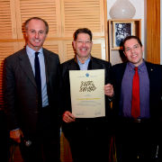 TAU VP Amos Elad Visits French Friends