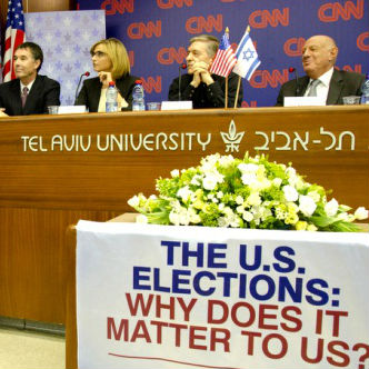 TAU & CNN host US Election panel