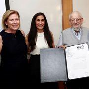 BOG 2019: Constantiner Prize Awarded to Former Parliamentarian Yair Tzaban