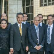 Hong Kong Chief Executive Visits TAU