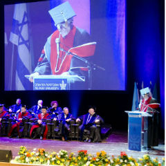 2014 TAU Honorary Degrees Awarded