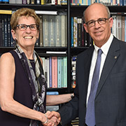 Ontario Premier Receives TAU Award