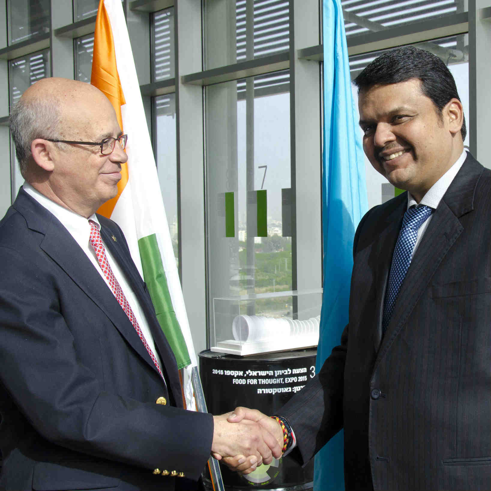 Chief Minister of Maharashtra, India Visits TAU