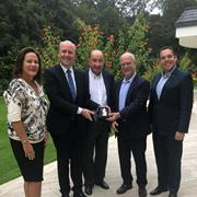 TAU President Ariel Porat Receives German Accolade