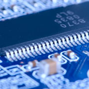 Radiation-enabled computer chips