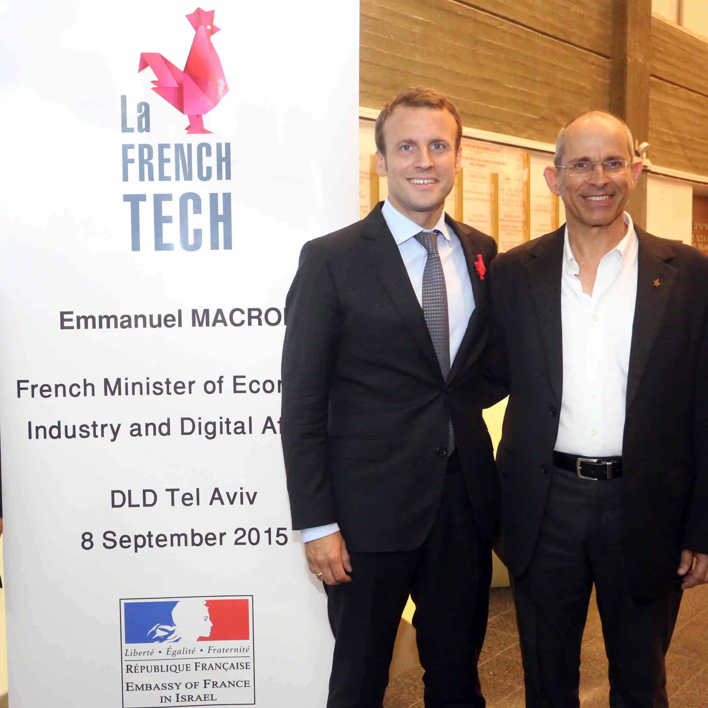 French Economy Minister Visits Tel Aviv University