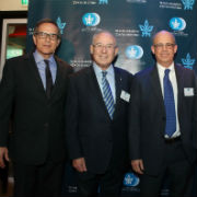 Israeli Friends Host Board of Governors Chairman Prof. Jacob A. Frenkel