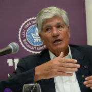 TAU Welcomes Media Mogul Maurice Levy
