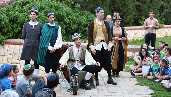 When Shakespeare came to Tel Aviv