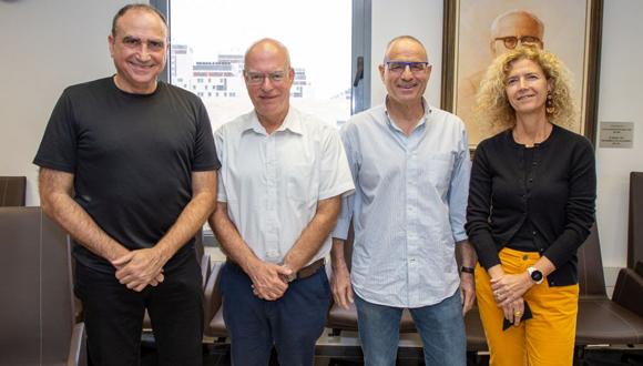 https://english.m.tau.ac.il/sites/default/files/media_server/all-units/(Left to Right) Prof. Yossi Matias, Prof. Ariel Porat, Prof. Meir Feder & Prof. Tova Milo580.jpg