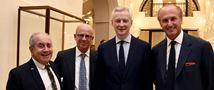 Paris Gala Celebrates Reopening of Iconic Lutetia Hotel