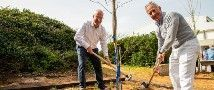 Trees Planted in Memory of TAU Governors Annie and Marcel Adams
