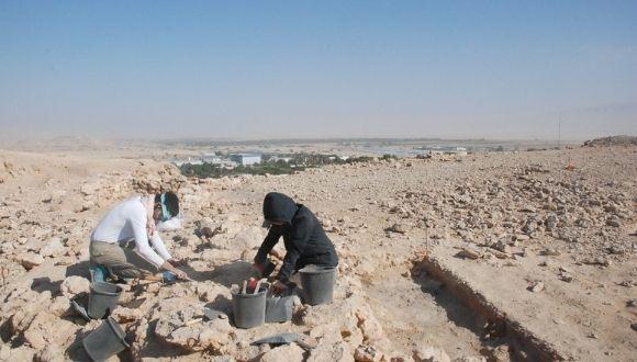 hilltop TAU excavation at Yotvata