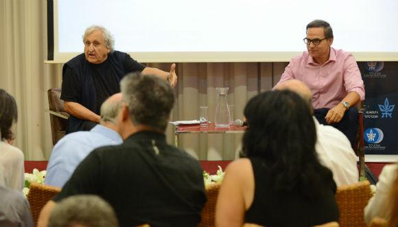 Israeli Friends of TAU Host A.B. Yehoshua