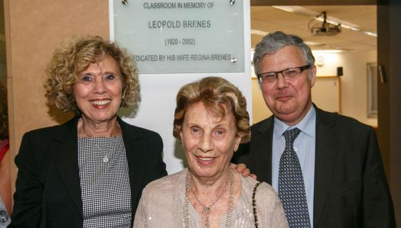 Inauguration of the Leopold Brenes Scholarship Fund and Classroom