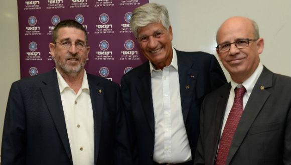 Prof. Asher Tishler, Maurice Levy, Prof. Joseph Klafter