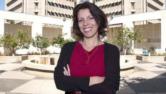 Prof. Neta Erez (Photo: Michal Kidron)