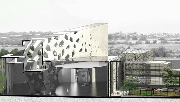 The work of TAU Azrieli School of Architecture student Tal Amram.