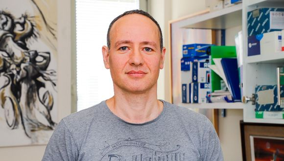 Prof. Tamir Tuller (Photo: Rafael Ben Menashe)