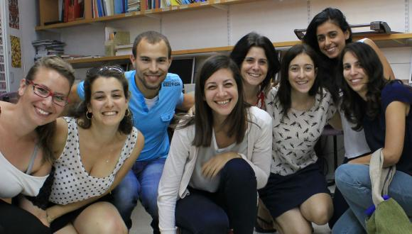 "A group photo of the students who volunteered as part of ""Different Economics"" in 2012"