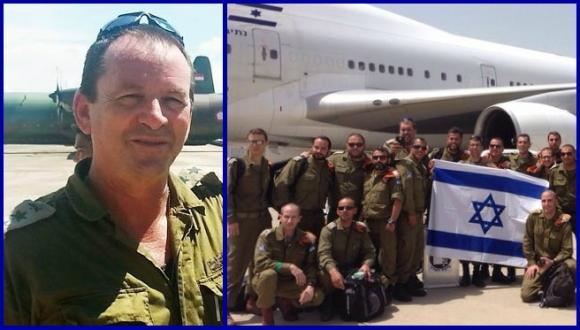 Prof. Kobi Peleg and the IDF delegation to Nepal