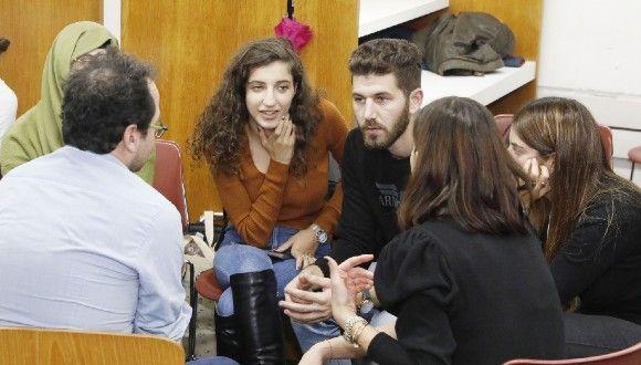 jumpTAU students . Photo: Yael Tzur.