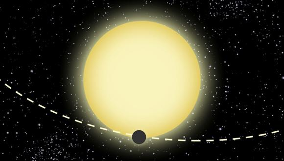 Illustration of Kepler-76b
