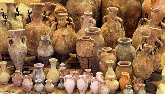 The shapes and sizes of pottery used for commerce depended on an ancient measuring system
