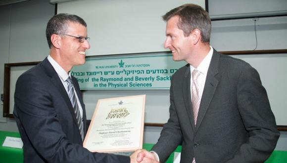 2012 Raymond and Beverly Sackler Prize in the Physical Sciences