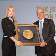 TAU President Klafter Accepts Jerusalem Post Award for Innovation