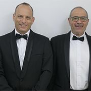 Guy Dorman, Dr Zvi Reznic, Prof. Meir Feder and Ron Yogev