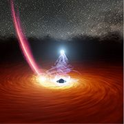 What Disrupted A Giant Black Hole's Feast?