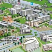 Campus Map of Tel Aviv University