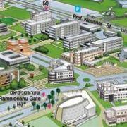 Campus Map of Tel Aviv University