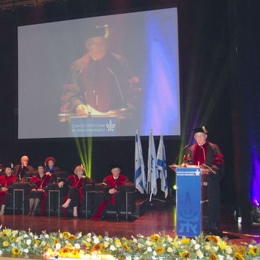 2013 TAU Honorary Degrees Awarded