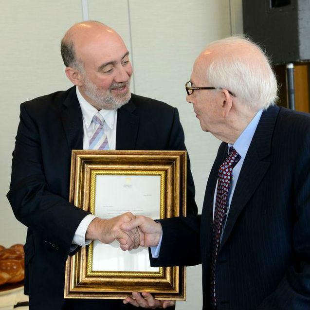 TAU Benefactor Raymond Sackler Recognized by the State of Israel